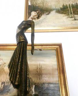 Скульптура в стиле ар-деко ,  D.Chiparus