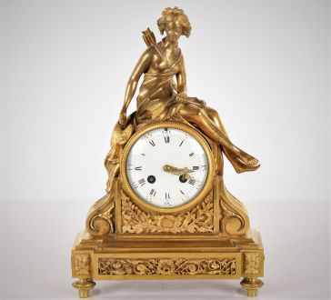 Каминные французские часы Japy Frères