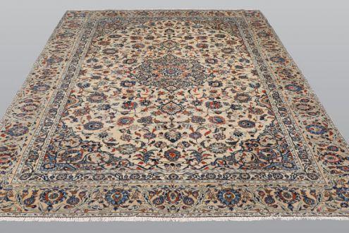 Шерстяной персидский ковер, Кешан